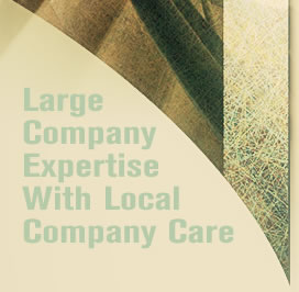 Large Company Expertise With Local Company Care